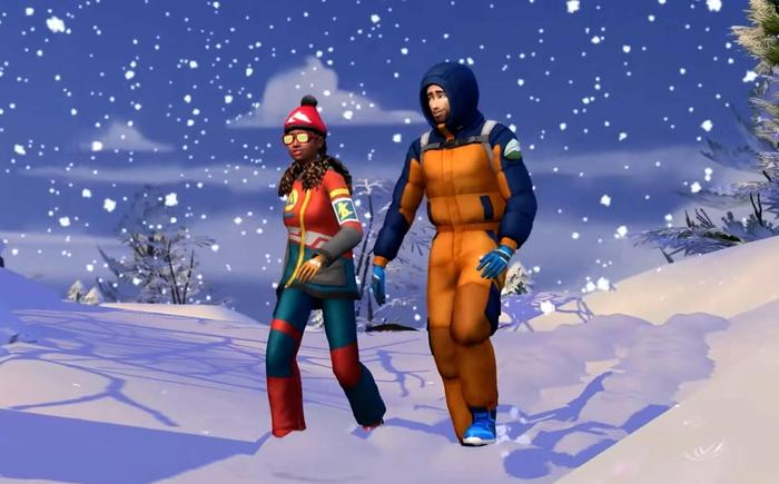 the sims 4 snowy escape interview 1
