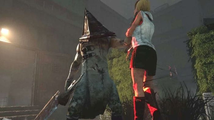 silent hill triangle dude