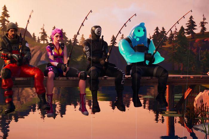 Image result for fortnite fishing