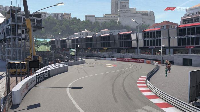 Monaco GP Turns 13 14 15 16 Swinning Pool Piscine Louis Chiron