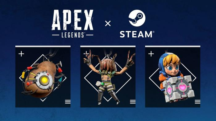 Apex Legends steam rewards weapon charms