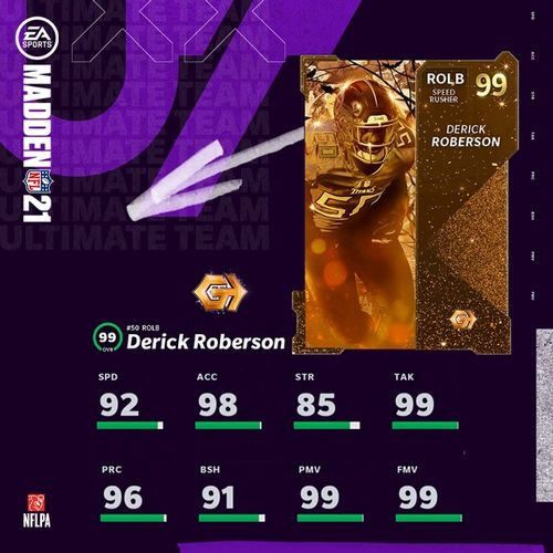 SPEED RUSHER: Look out for this defensive demon