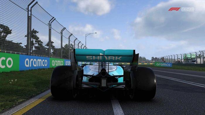 F1 2020 Car rear
