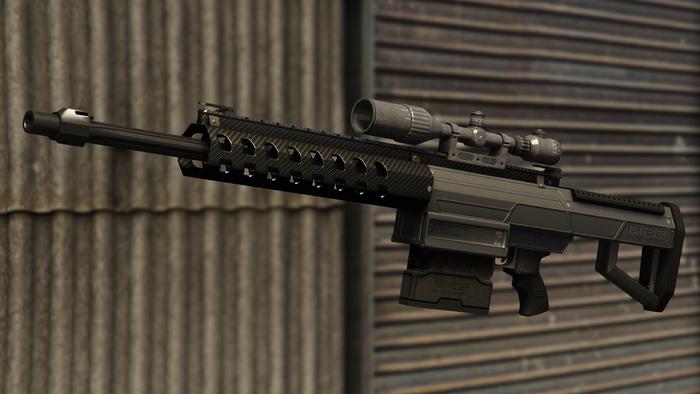 GTA Online Best Weapons Heavy Sniper Mk II