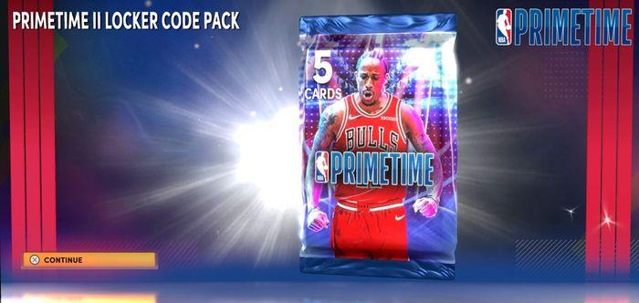 The Primetime II Pack in NBA 2K22