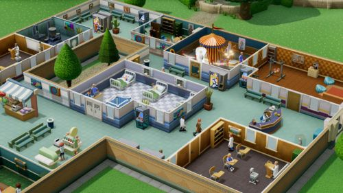 two point hospital switch gameplay