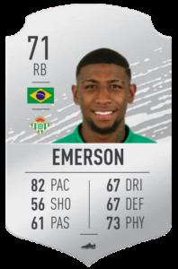 Emerson base card
