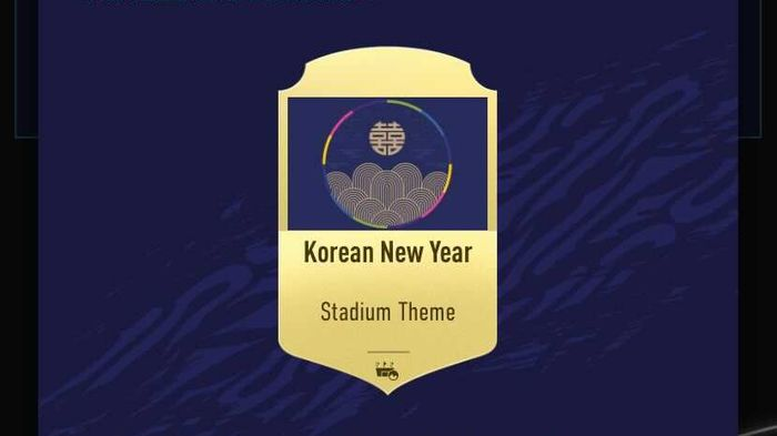 Korean New Year Stadium Theme fifa 21 ultimate team