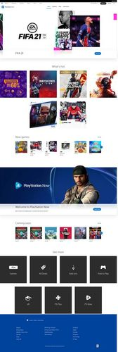 ps store full home page