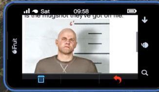 GTA V Online Stone Hatchet Bounty mugshot