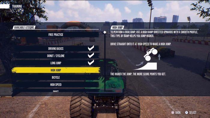 Monster Truck Sim Training min1