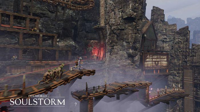 April 2021 PS Plus Abe Oddworld Soulstorm Factory