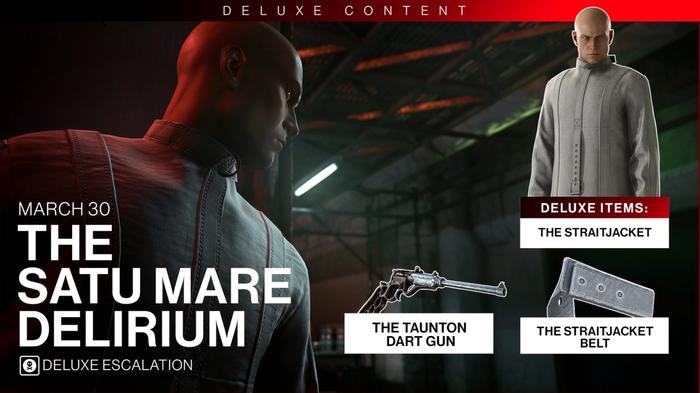 Hitman 3 March Roadmap Deluxe Escalation Satu Mare Delirium