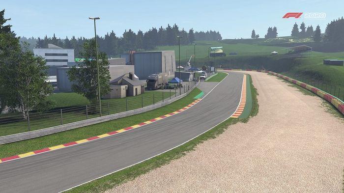 F1 2020 Belgian GP Spa Turns 15 16