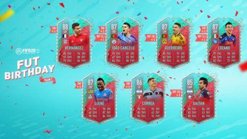 fut birthday fifa 20 full squad leaked 22