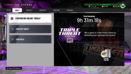 NBA 2K The Agenda