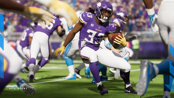 Dalvin Cook, Minnesota Vikings, makes a swift cut through the defense