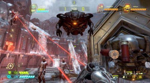 Doom Eternal's battle mode pits two demons vs one slayer