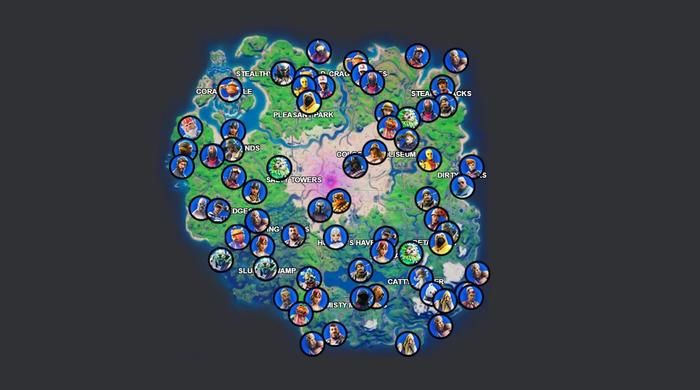 Fortnite Season 5 Week 15 Challenges NPC Map