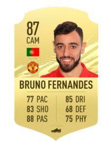Bruno Fernandes FIFA 21