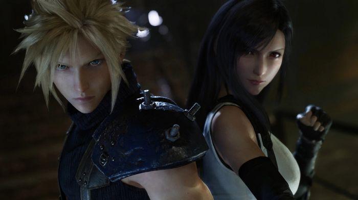 Final Fantasy 7 Remake Cloud Tifa