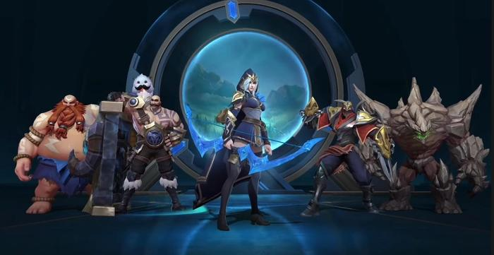 League of Legends Wild Rift Gameplay Trailer Champions