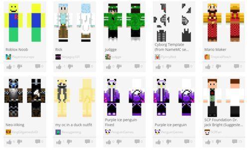 minecraft skins makers