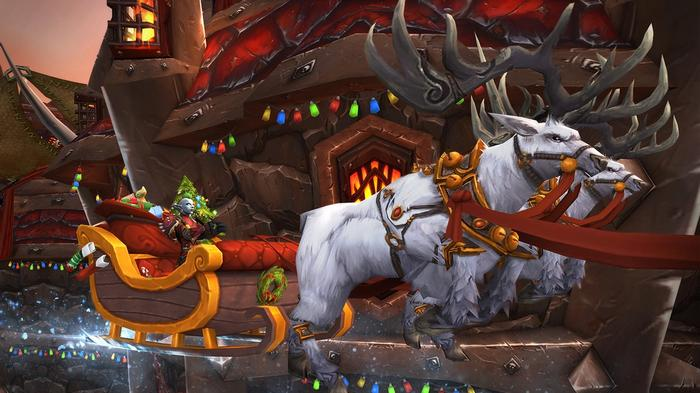 WoW Feast of Winter Veil Shadowlands Classic