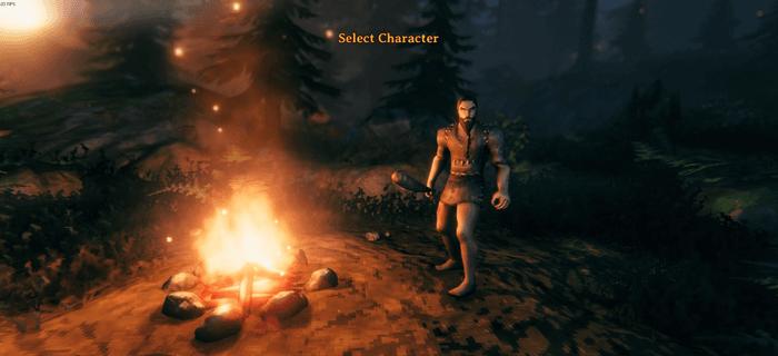 Valheim Create A Character