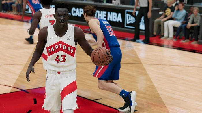 Pascal Siakam in NBA 2K22