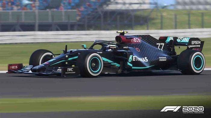 f1 2020 black mercedes bottas full
