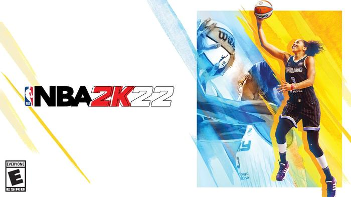 Candace Parker of the Chicago Sky is on the cover of a special edition of NBA 2K22