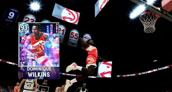 Dominique Wilkins in NBA 2K22