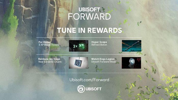 assassins creed ubisfot forward rewards 1