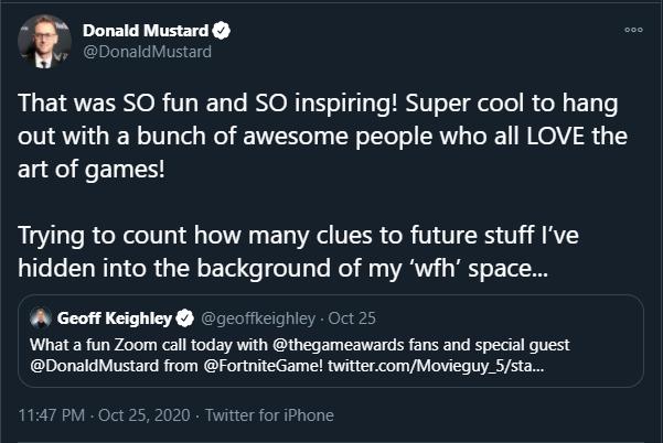 donald mustard gi joe tweet hint