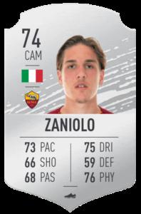 Zaniolo base card