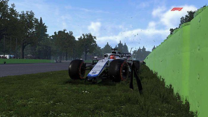 F1 2020 Williams Crash