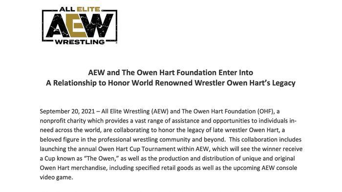 Owen Hart AEW Console Game