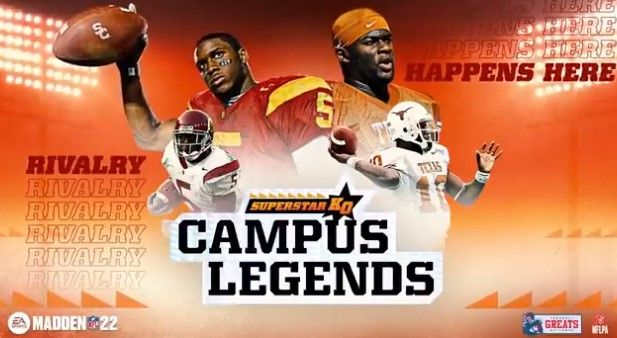 Madden 22 campus legends ncaa player names
