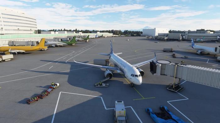 Microsoft Flight Simulator Airports USA New York Dallas Fort Worth 1