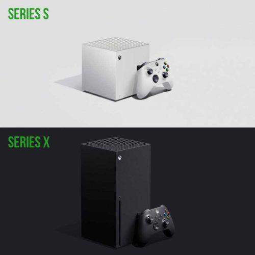 Xbox Series S Fan Concept and Xbox Series X Design