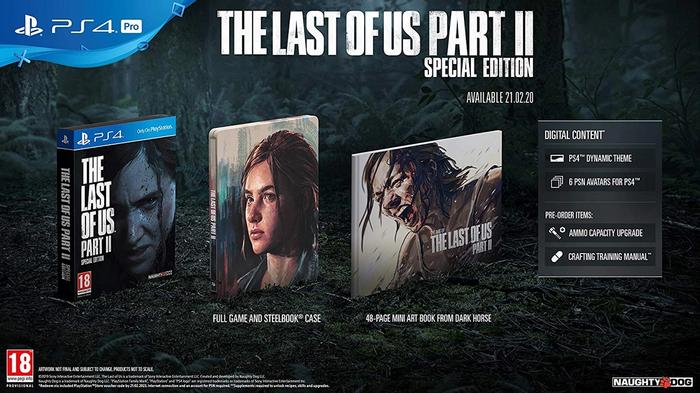 All the extras in the Special Edition of The Last of Us 2