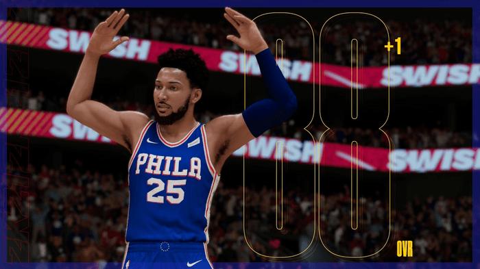 NBA 2K21 Roster Update Ratings Ben Simmons