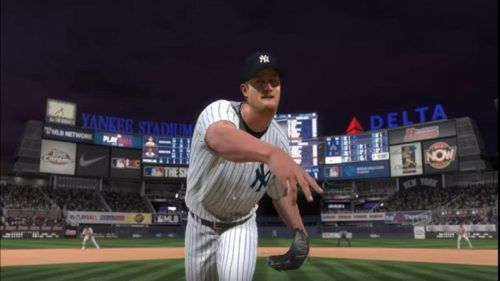A Yankees pitcher in MLB The Show 20