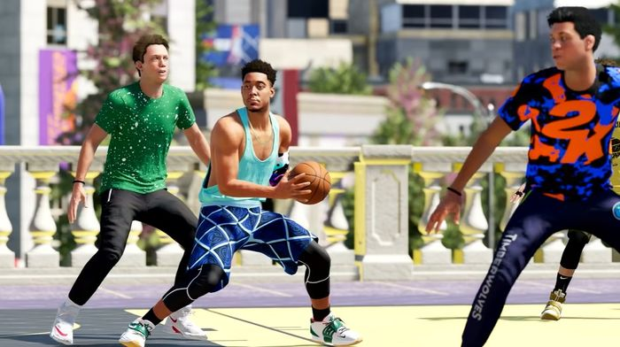NBA 2K22 myplayer the city online park play