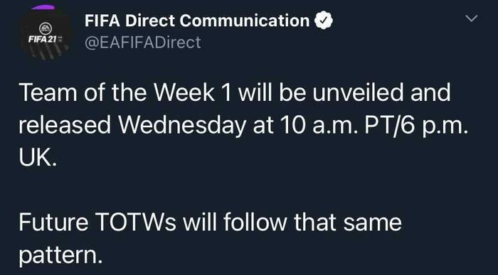 TOTW reveal time