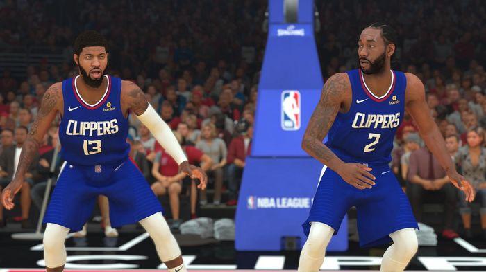 NBA 2K21 Kawhi Leonard