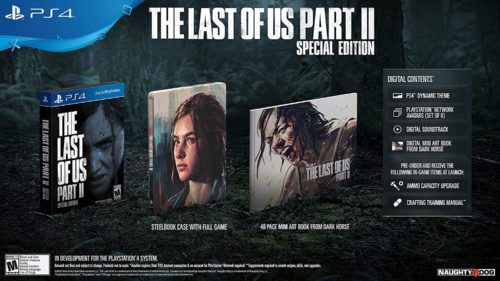 the last of us 2 special edition pre order