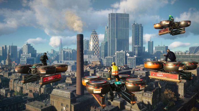 Watch Dogs Legion Multiplayer Co-op Construction Drone