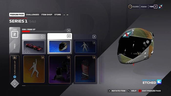 F1 2020 Podium Pass Helmet 1